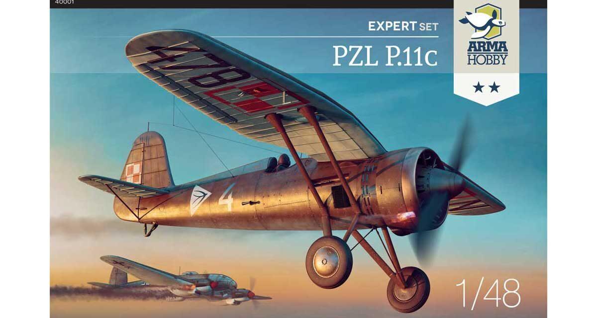 PZL P.11c 1/48 scale kit project recap