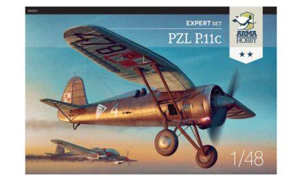 Podsumowanie projektu PZL P.11c w skali 1/48