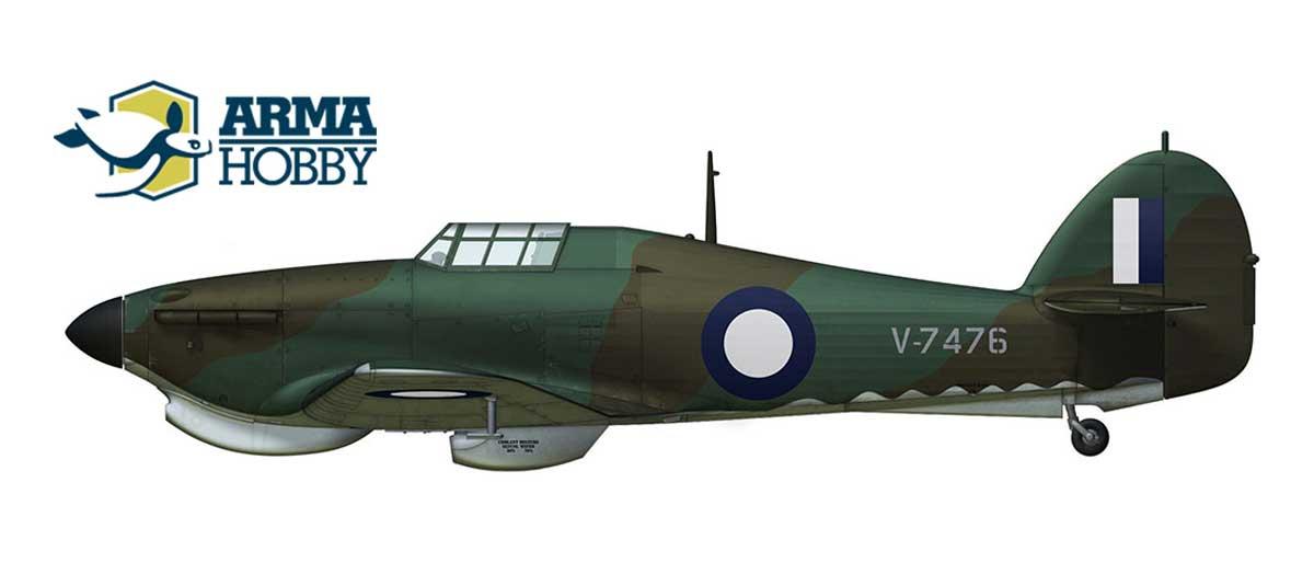 Hurricane Mk.I Trop V7476 – the Only One on Australian Soil