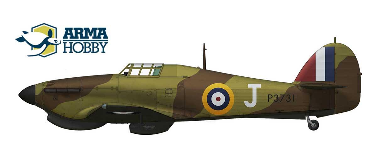 Hurricane P3731/J in defence of Malta