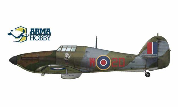 Hawker Hurricane Mk.I – wersje morskie
