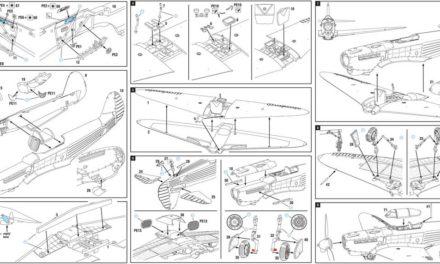 Yak-1b Expert Set kit instruction