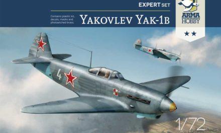 Recenzje Jak-1b z Arma Hobby