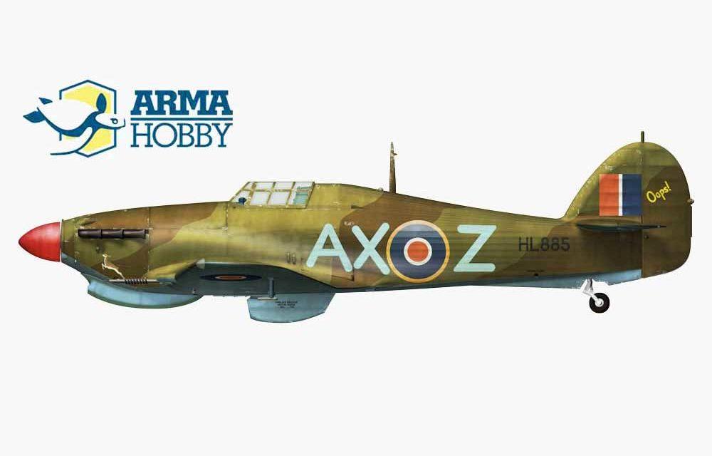 """Stewart """"Bomb"""" Finney i jego Hurricane Mk.IIc"""