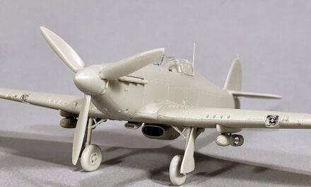 New Arma Hobby 1/72 scale kit announced – Hurricane Mk IIb