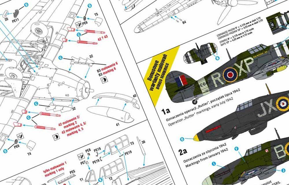 Hurricane Mk II b/c Expert Set – Instrukcja Modelu