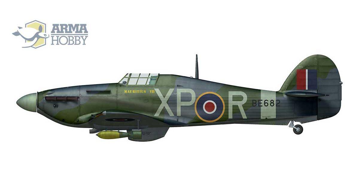 Hurribomber Mk. IIb ze 174 dywizjonu RAF