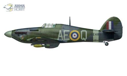Hurribomber BE489 w 402 Dywizjonie RCAF