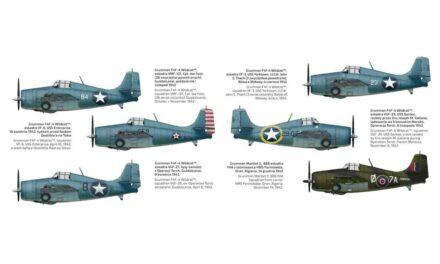 Grumman F4F-4 Wildcat Expert Set – markings options