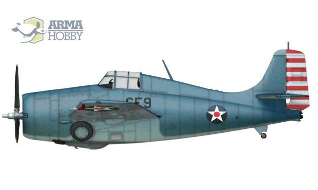 Debiut F4F-4 Wildcat