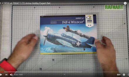 F4F-4 Wildcat Expert Set – Recenzja Video – Rafhart