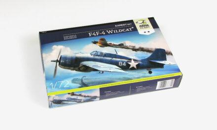 F4F-4 Wildcat Expert Set – Recenzja – TRL