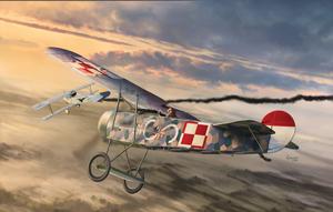 Zapowiedź modelu Fokker E.V w skali 1/72