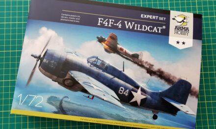 F4F-4 Wildcat Expert Set – Recenzja – Marcin Wawrzynkowski