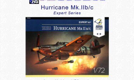 Hurricane Mk IIb/c Expert Set – Recenzja – Brett Green na Hyperscale