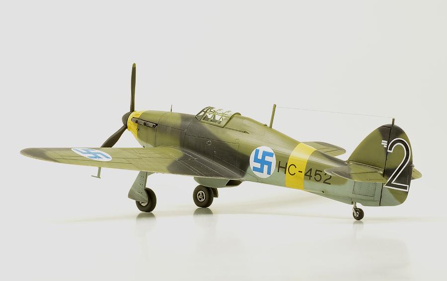 Fiński Hurricane Mk I – galeria – Libor Jekl