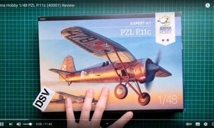 PZL P.11c 1/48 Expert Set – Video Inbox – Viktor Mulin