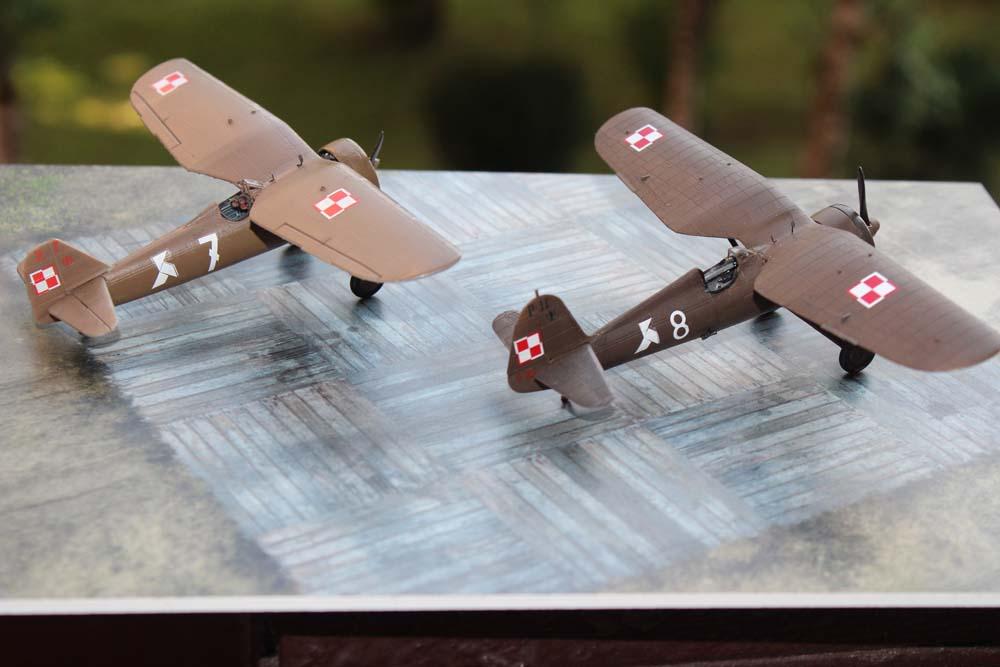 PZL P.7a and P.11c – model gallery by Grzegorz Szymanowski