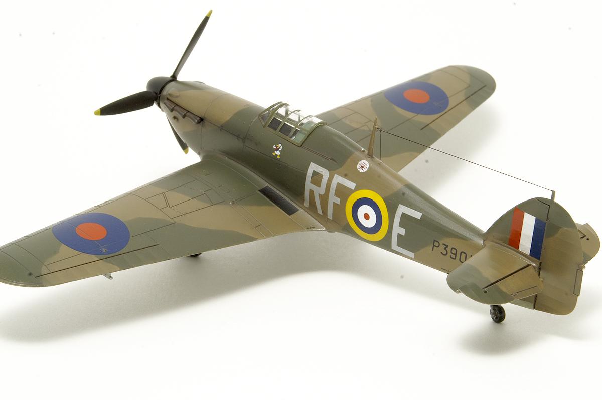 Hurricane Mk I from 303 Squadron – gallery – Zbyszek Malicki