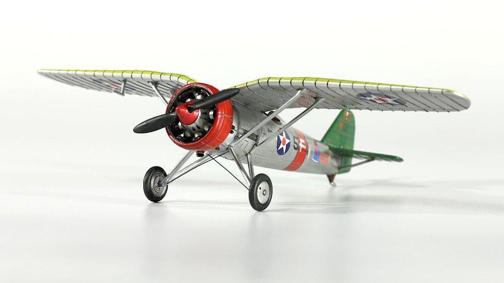 PZL P.7a in US Navy Colours – Gallery – Wojtek Werpachowski