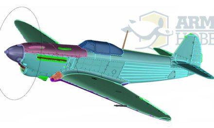 Announcement of the Yak-1b Model Kit