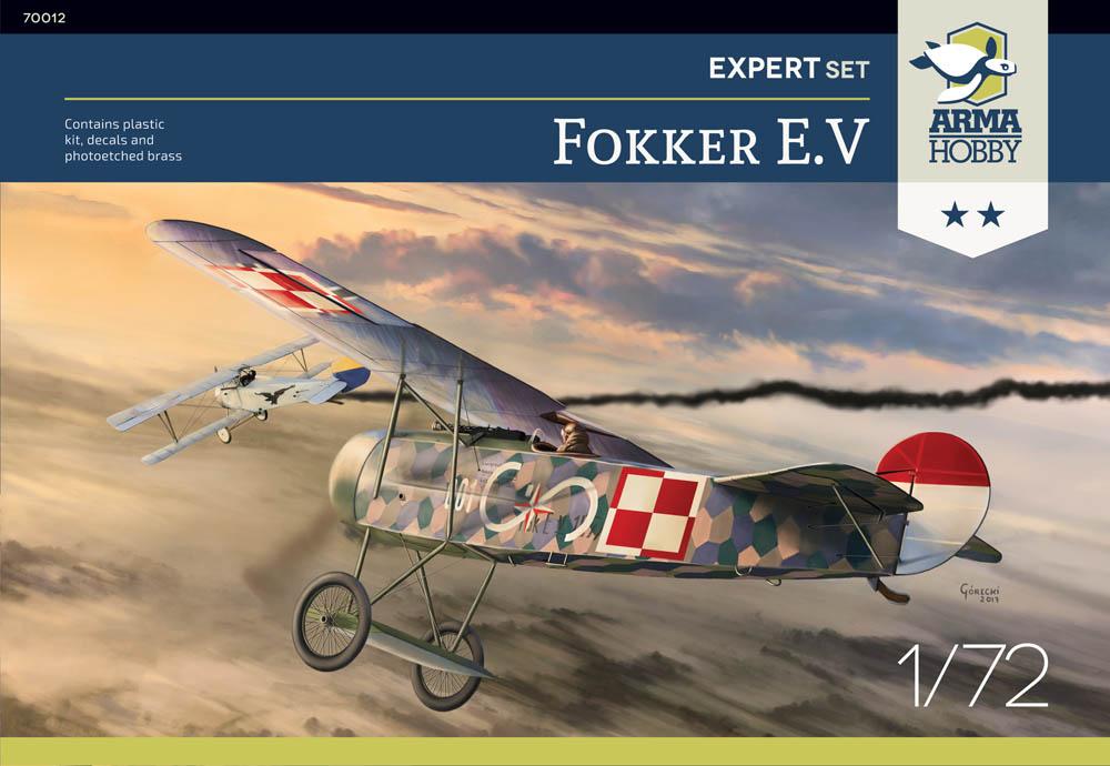 Recenzje modeli Fokker E.V z Arma Hobby