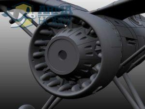 osłona silnika p.11c engine cover