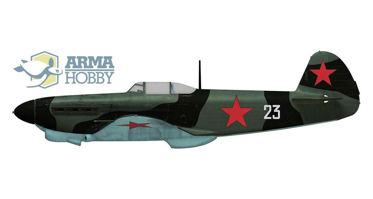 Lidya Litvyak's Yak-1 and Yak 1b fighters.