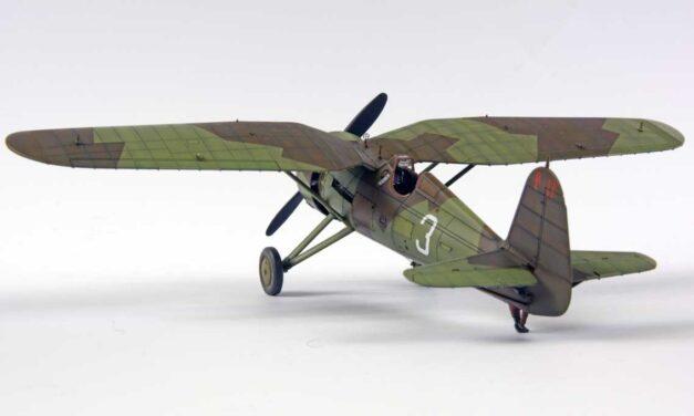 "PZL P.11c Expert Set 1/48 ""Camouflaged 3"" – Step-by-Step – Bartek Stawski"