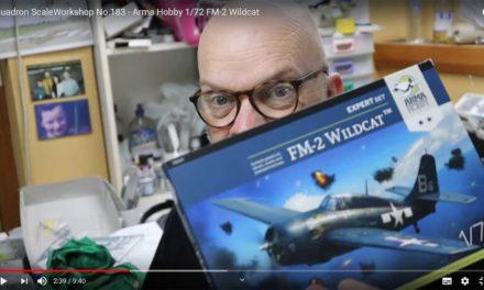 Brett Green rozpakowuje pudełko z FM-2 Wildcat ™ – video