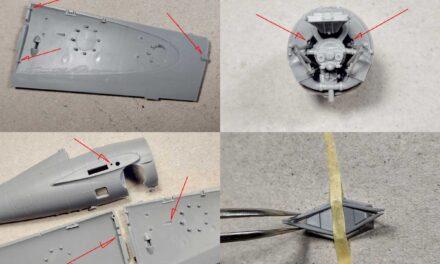 Sklejamy F4F-4 – uwagi projektanta modelu