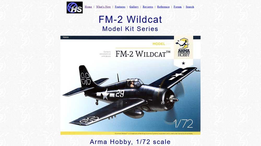 FM-2 Wildcat Model Kit- Review – Hyperscale