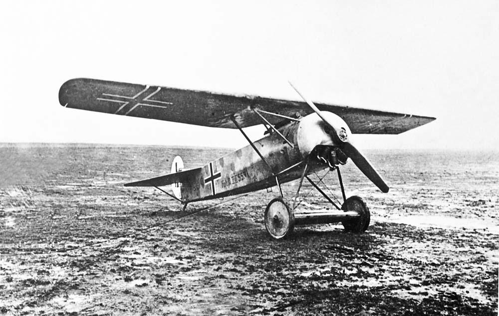 Brzytwa Fokkera – E.V/D.VIII