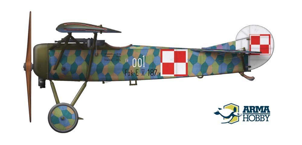 Fokker E.V – malowania z zestawów Expert i Junior