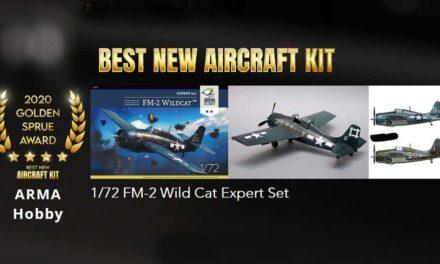 FM-2 Wildcat zdobywa Golden Sprue Award 2020!