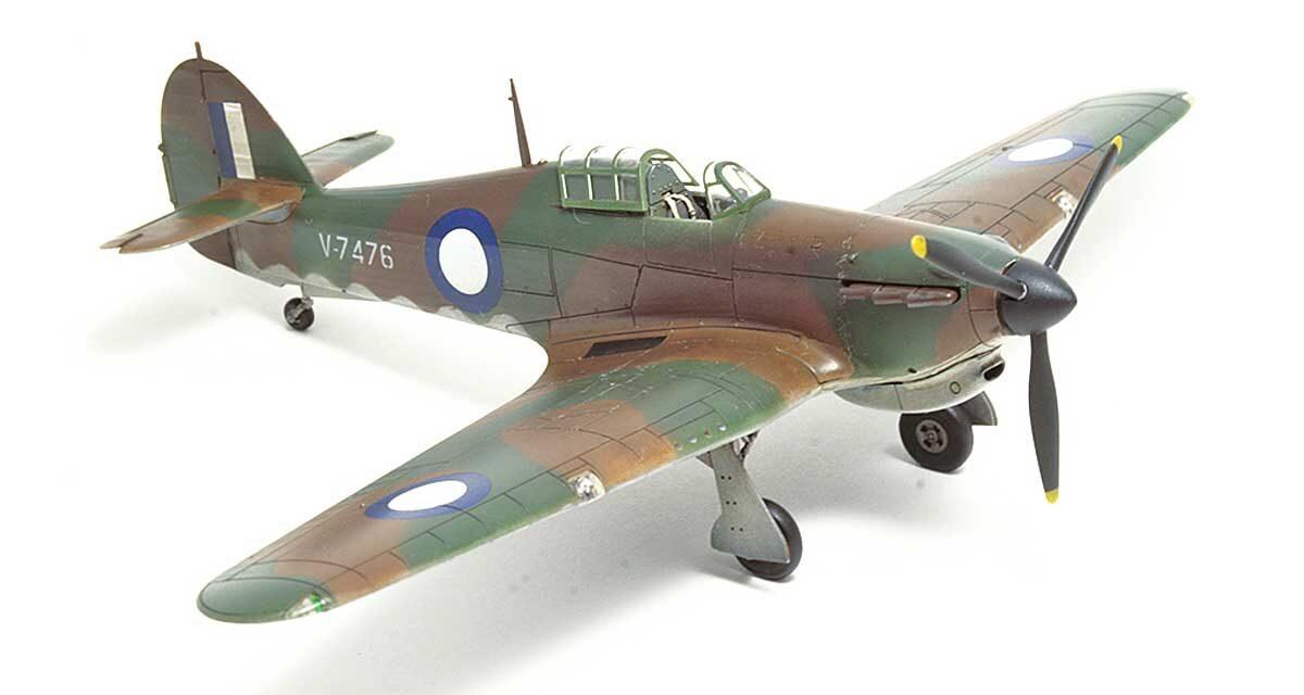 Hurricane Mk I trop – Galeria – Zbyszek Malicki