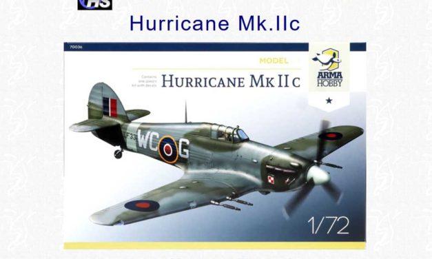 Brett Green recenzuje na Hyperscale zestaw Hurricane Mk IIc Model Kit