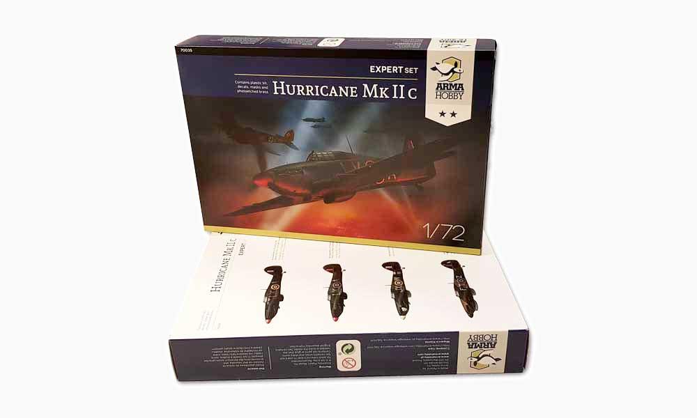 Recenzje modelu Hurricane Mk IIc z Arma Hobby