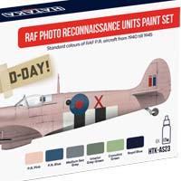 RAF PRU Spitfire color set – cooperation Hataka Hobby and Attack Squadron