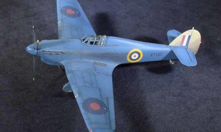 Rozpoznawczy Hurricane Mk I Trop – Galeria – John Miller