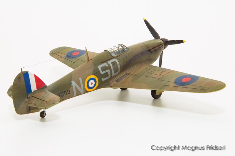 Hurricane Mk I Expert Set – galeria – Magnus Fridsell