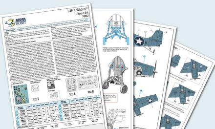 F4F-4 Wildcat Expert Set – instrukcja montażu