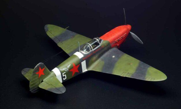 Chuvelyov's Yak-1b – Gallery – Artur Rzepka