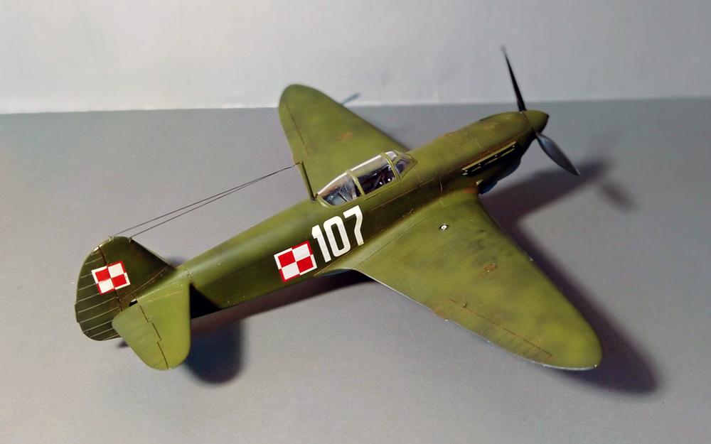 Jak-1b Model Kit – Galeria – Dominik Sędziak