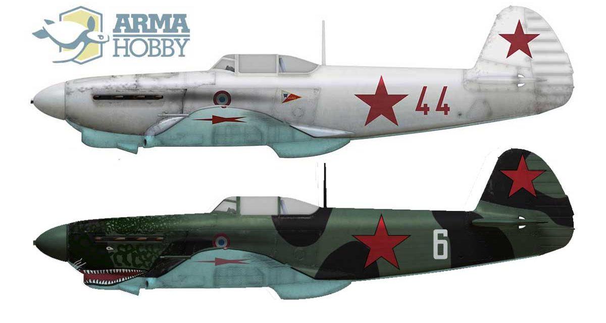 Jak-1b Normandie Niemen