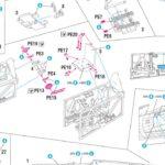 P.11c w 1/48: montaż kabiny – krok po kroku