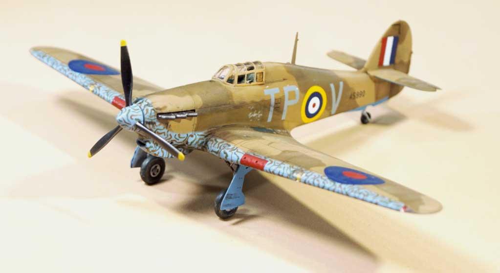 Hurricane Mk I trop – Galeria – Pierre Vizentini