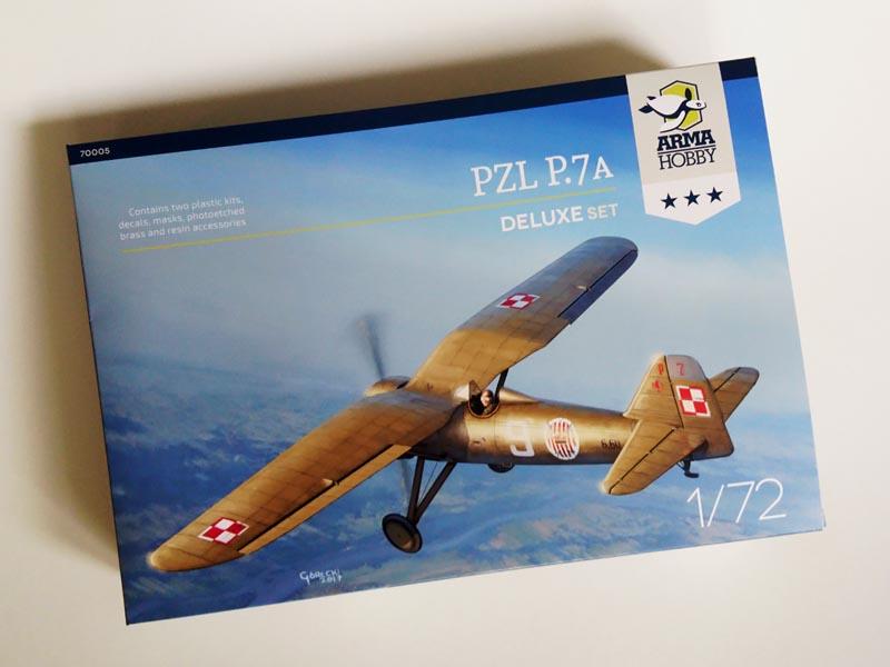 Recenzje Modelu PZL P.7a