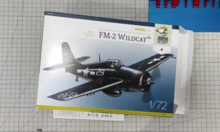 Kolejna recenzja Rafharta – FM-2 Wildcat Model Kit