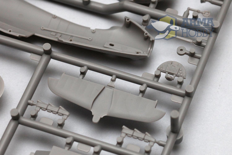 Części plastikowe modelu Hurricane